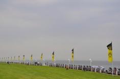 Rat der Insel Norderney beschließt verbot der Fahnen des BxB und des FC Bayern