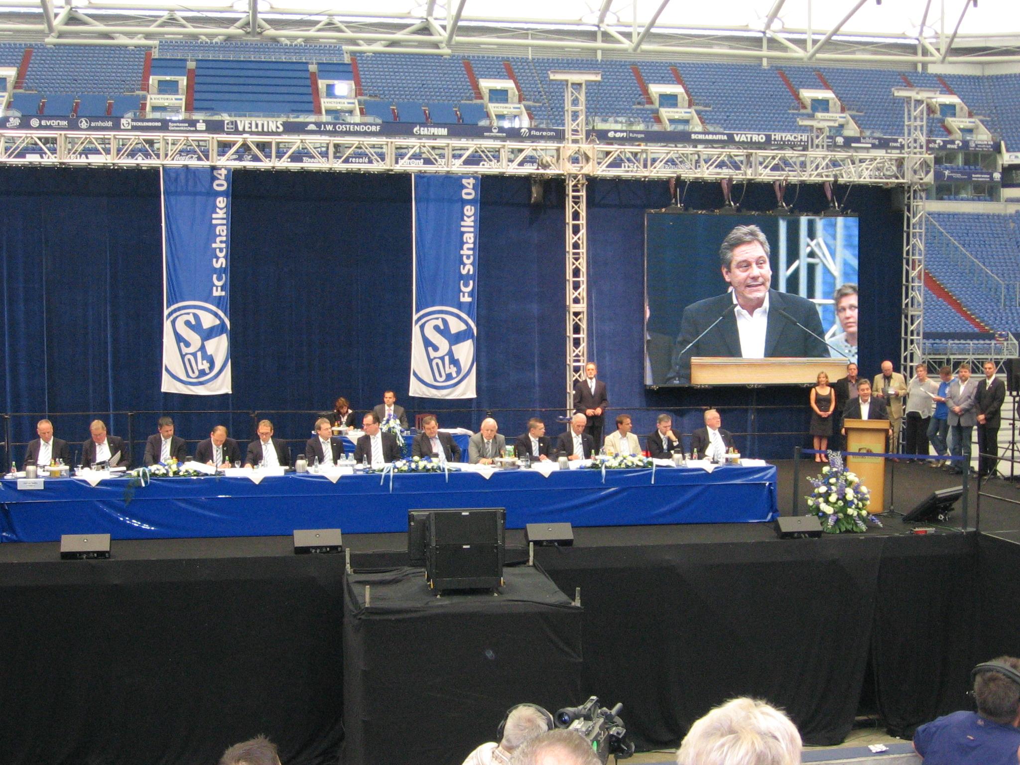 Meine Anträge auf der Jahreshauptversammlung des FC Schalke 04 am 19.06.2011