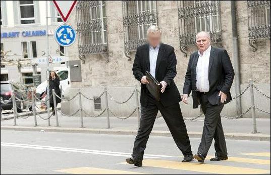 U. Hoeneß besucht die Bündener Kantonalbank (GBK) am 13.05.2013?