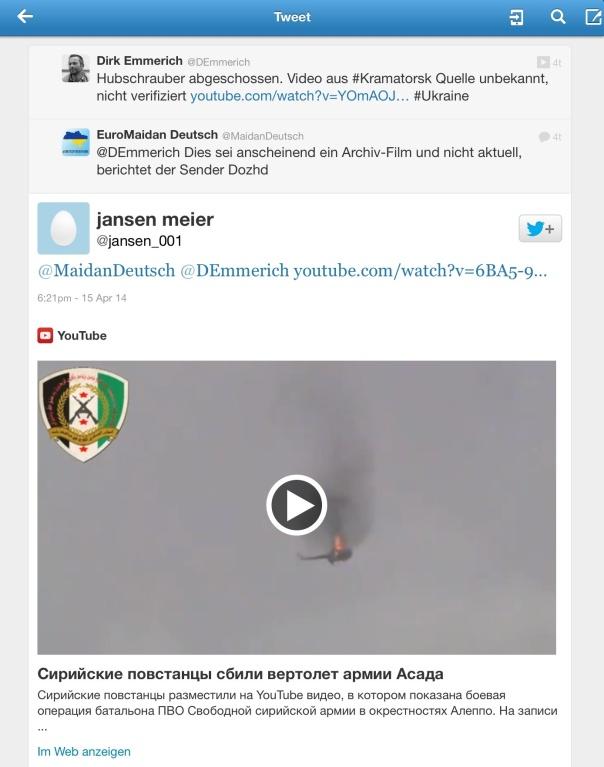 Ein privater Twitter Nutzer liefert den Beweis für die Desinformation durch @DEmmerich.