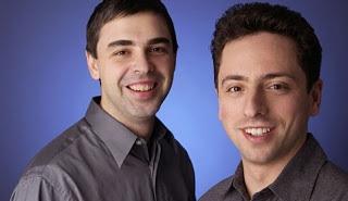 Sergei Brin und Larry Page (Google und YouTube)