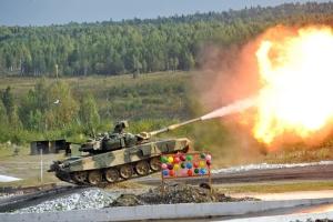 Der T-90 ist der modernste Kampfpanzer im Dienst der russischen Armee.