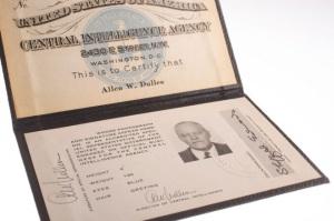 Allen Dulles CIA Chef und