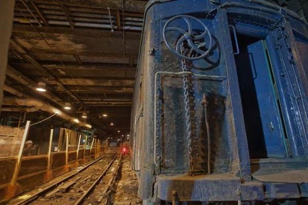 """Track 61"" Secret train platform beneath the Waldorf Astoria"