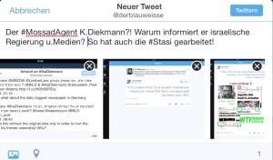 Kai Diekmann informiert israelische Medien und Regierung! Der Denunziant und Informant!?