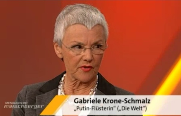"""Krone-Schmalz """"Die Putin-Flüsterin"""""""