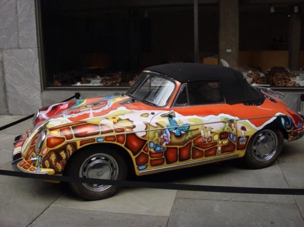 Janis Joplins 1965er Porsche 356 SC Cabriolet
