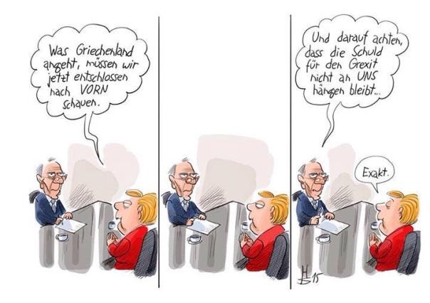 Hauptsache es waren die Anderen! Merkel und Schäuble und ihre wahren Ängste.