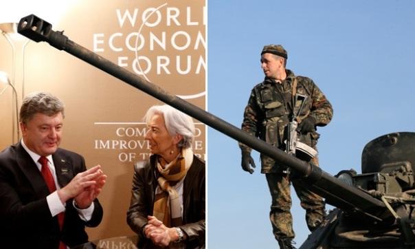 """Griechenland wartet wie im alten Rom, auf den Daumen der """"Caesaren"""". Daumen hoch für die Ukraine, Daumen runter für Griechenland!"""