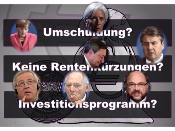 """In der TV Talkrunde """"Jauch"""" am 06.07.2015 wurden die Aussagen der EU-Politiker, der Medien und der Bundesregierung , zu den Inhalten der, der griechischen Regierung gemachten Angeboten eindeutig, als Lügen entlarvt!"""