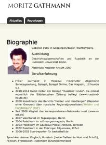"""""""Der Ruf nach Pressefreiheit"""" Der Fall Moritz Gathmann - David Schraven"""