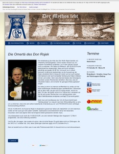 Screenshot der Ruhrknappen Homepage vom 10.09.2015