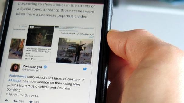 Bildlegende: Welche Bilder stammen tatsächlich aus Aleppo?